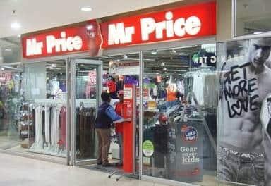 Mr Price shop window