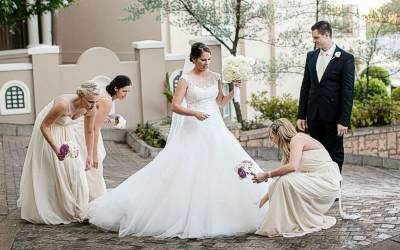 white south african brides