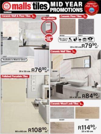 Durban tiles specials catalogue snapshot
